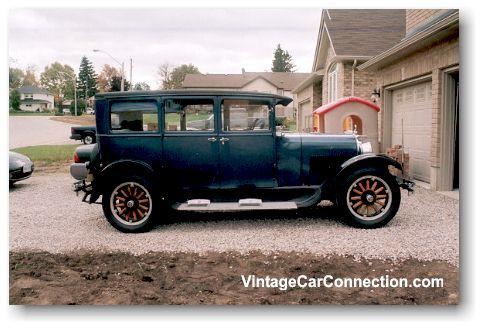 Vintage car connection recent appraisals toronto for 1929 dodge 4 door sedan