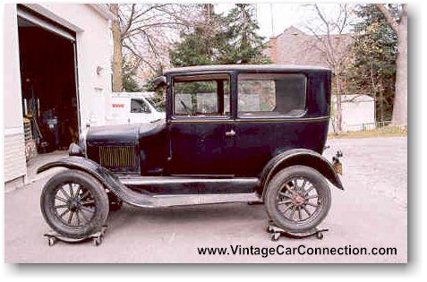 Vintage car connection recent appraisals toronto for 1927 ford model t 4 door sedan