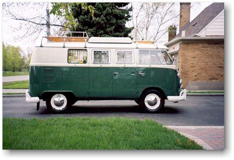 1967 Volkswagen Westfalia Camper Bus